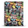 Libreta Cuaderno A5 Marvel Classic Comics
