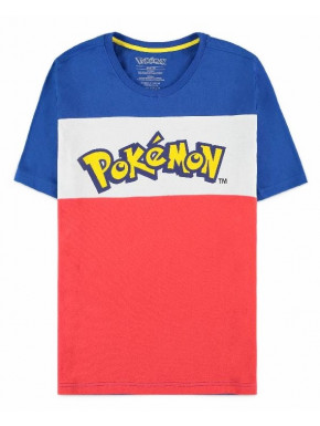 Pokémon - Colour-block - Men's Short Sleeved T-shirt - XL
