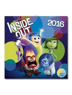 Inside Out calendario de pared 2016