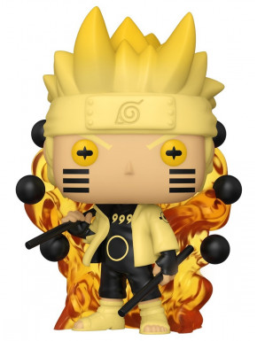 Naruto Figura POP! Animation Vinyl Naruto Six Path Sage 9 cm