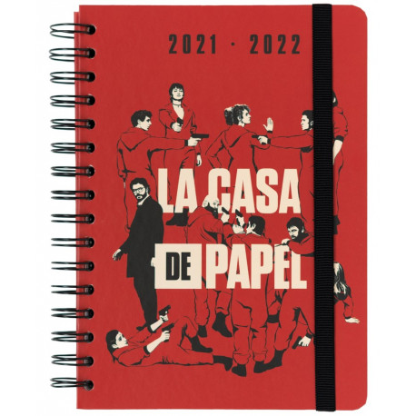 Agenda 2021/2022 A5 La casa de papel