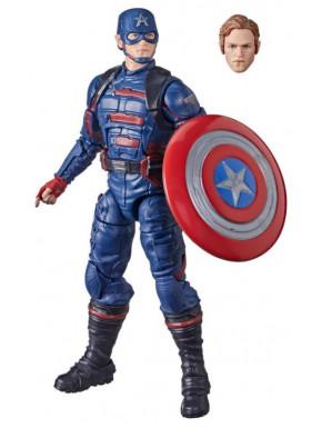 Falcon y el Soldado de Invierno Marvel Legends Figura 2021 Captain America (John F. Walker) 15 cm