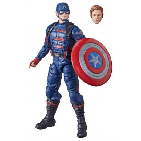 Figura Capitán América Marvel Legends
