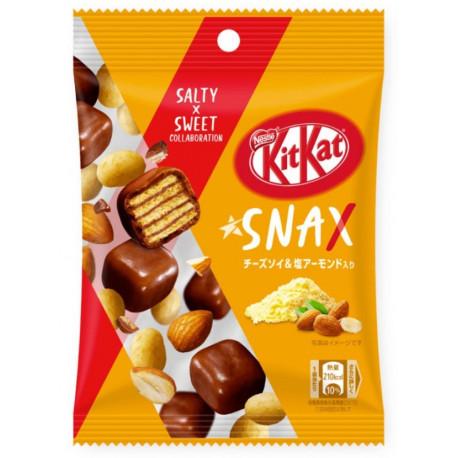 KitKat de queso, soja y almendras