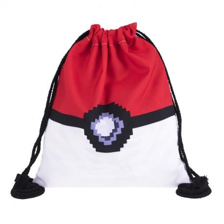 Mochila tiras Pokemon Pokeball