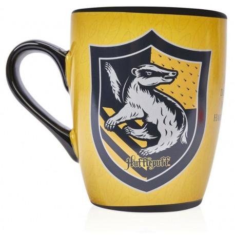 Taza térmica desayuno Harry Potter Hufflepuff