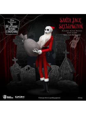 Pesadilla antes de Navidad Figura Dynamic 8ction Heroes 1/9 Santa Jack Skellington 21 cm