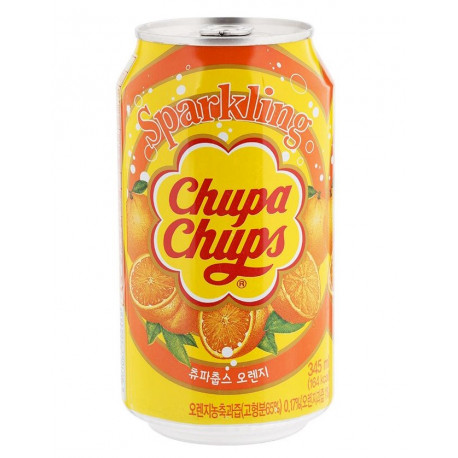 Refresco Coreano Chupa-Chups Sabor Naranja
