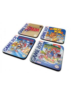 Juego de posavasos Gameboy (Colección clásica)