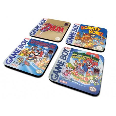 Set de Posavasos Game Boy