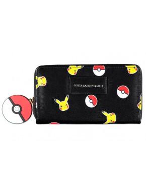 Pokémon - Pickachu Girls Zip Around Wallet