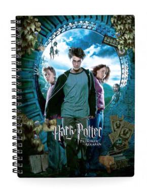 Libreta 3D Harry Potter y el Prisionero de Azkaban
