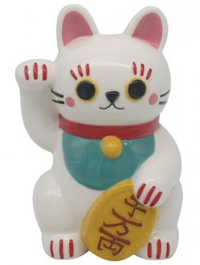 Hucha cerámica Maneki Neko Gato de la Suerte