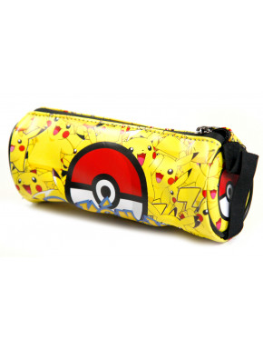 Estuche Pokemon con Pikachus