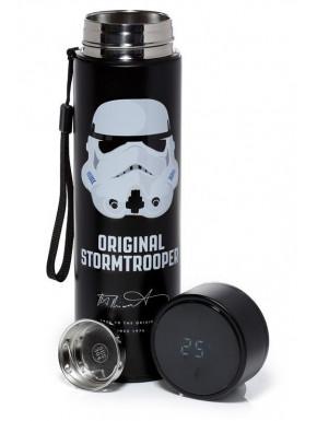 Botella de Acero Stormtrooper Star Wars con Termómetro