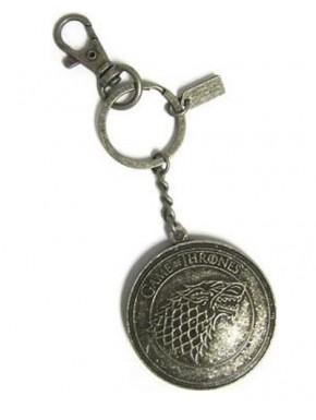 Llavero escudo de Stark Juego de Tronos