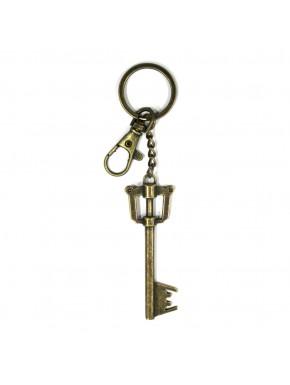 Llavero metálico llavespada del reino en bronce Kingdom Hearts