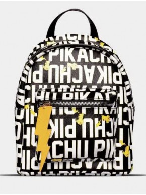 Pokémon - Pikachu Lettering - Mini Backpack