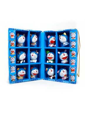 Doraemon set de figuritas zoodiaco chino