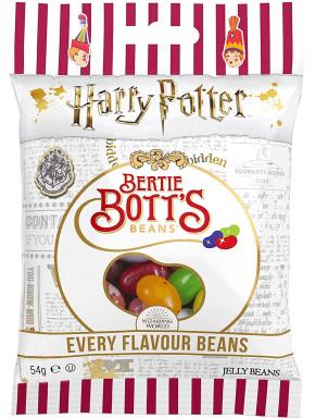 Grageas de todos los sabores Harry Potter sobre 54 gr