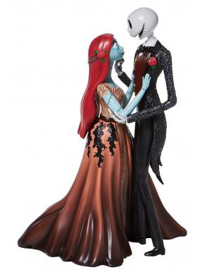 Figura decorativa Jack & Sally de gala