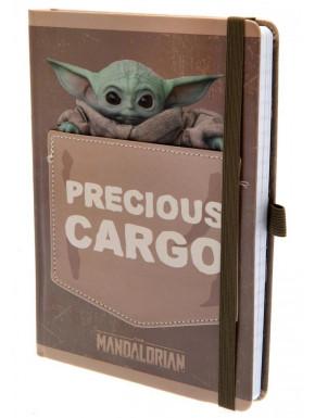 Libreta Baby Yoda The Mandalorian Precious Cargo