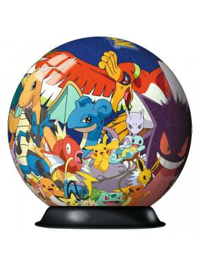 Pokémon Puzzle 3D Ball (72 piezas)