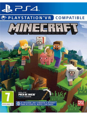 JUEGO SONY PS4 MINECRAFT STARTER COLLECTION