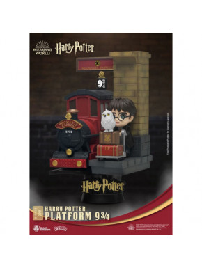 Diorama Harry Potter Andén 9 3/4 D-Stage 15 cm
