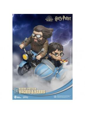 Diorama Harry Potter D-Stage Hagrid y Harry 15 cm