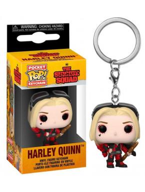 The Suicide Squad Llaveros Pocket POP! Vinyl Harley Quinn (Bodysuit) 4 cm Expositor (12)