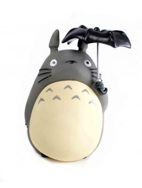 Totoro hucha con paraguas
