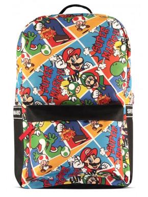Nintendo - Super Mario - AOP Backpack
