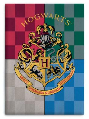 Manta Polar Harry Potter Hogwarts Crest