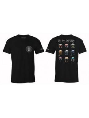 Camiseta El Mandaloriano Cascos