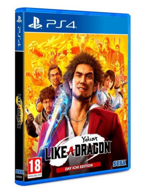 JUEGO SONY PS4 YAKUZA LIKE A DRAGON: DAY ICHI ED.
