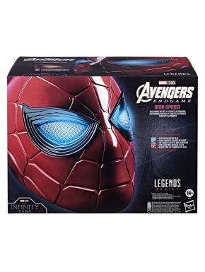Réplica Casco Electrónico Spiderman Iron Spider Marvel