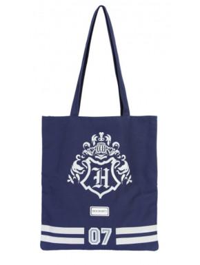 Bolsa de Tela Harry Potter Hogwarts Blue