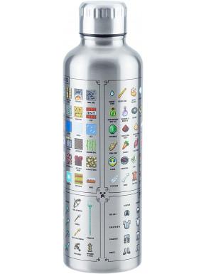 Botella Acero Minecraft
