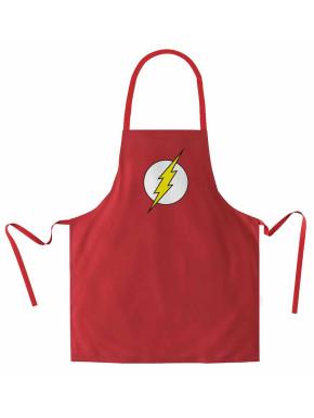 Delantal Flash Logo DC Comics
