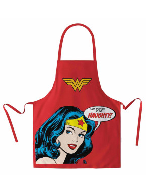 WONDER WOMAN DELANTAL DC COMICS PACKAGING CARTON