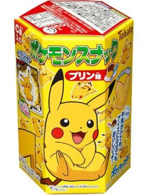Snack de Pudding Pikachu Pokemon con Sticker