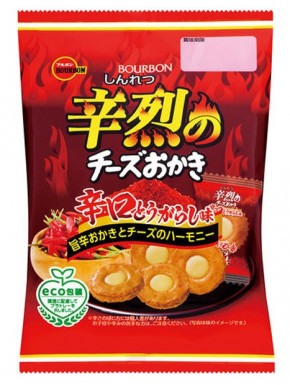 Bourbon Spicy Cheese Rice Cracker