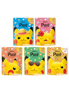 Kanro Pure Gummy Pokemon Tropical Fruit & Soda Flavor