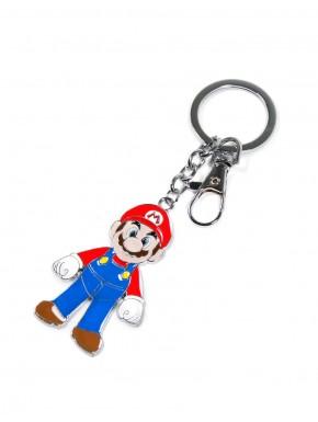 Super Mario llavero metal Mario