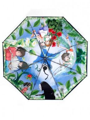 El viaje de Chihiro paraguas