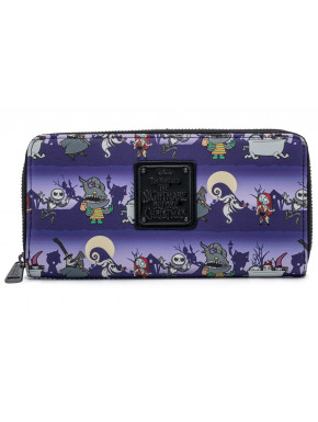 Cartera billetera Pesadilla Antes de Navidad Loungefly Halloween Line