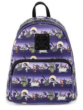 Bolso mochila Pesadilla Antes de Navidad Halloween Line Loungefly