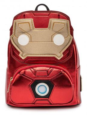 Bolso Mochila Loungefly Iron Man Marvel