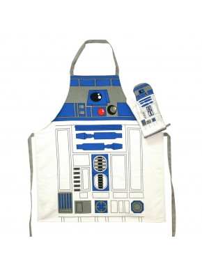 Star Wars delantal y manopla R2-D2